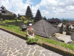 Mother Temple Besakih op de flanken van Gunung Agung Volcano