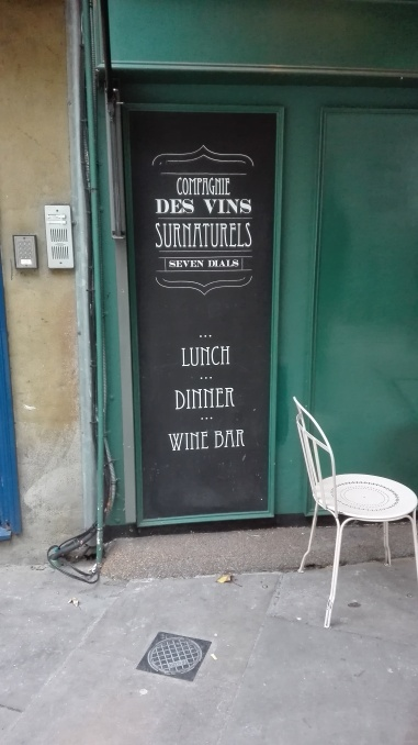 The Wine Bar!