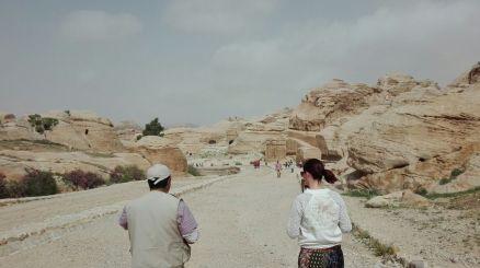 archeologische site Petra