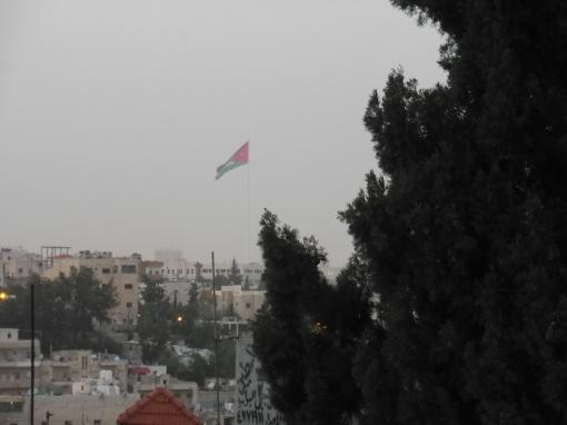 de derde hoogste vlaggenpost van de wereld
