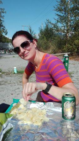chillen op de camping