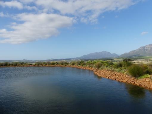 prachtige uitzichten in Stellenbosch