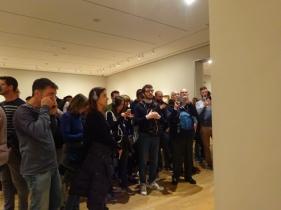 MoMA; we zijn hier niet alleen