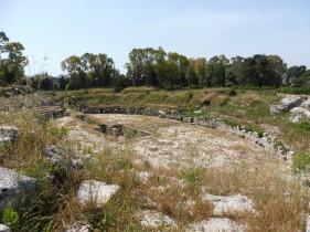 ruïne van een Grieks theater
