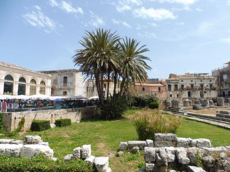 de oude stad van Siracusa