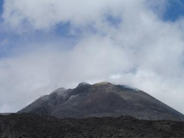 de Etna is nog steeds actief